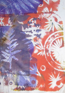 Dyeing Fabric with Light